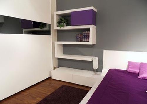 Decoraci n de interiores con tonos violeta y morados Quiero estudiar diseno de interiores