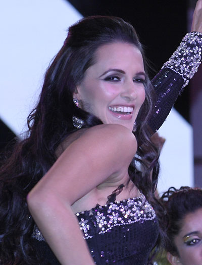 Hot Neha Dhupia perform at Canadian International Auto Show 2011