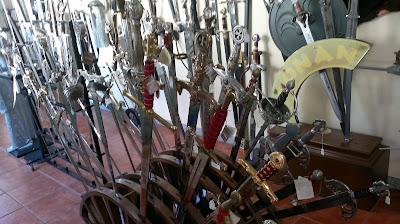 Espadas de Toledo - que visitar