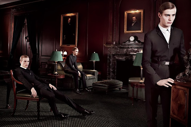 Dior Homme Campaign FW14, Dior Homme Willy Vanderperre campaign