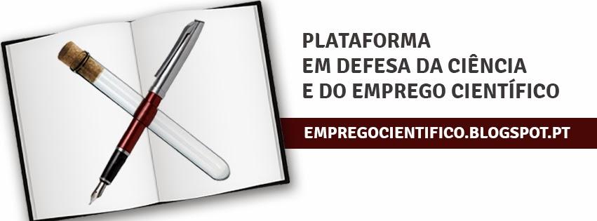 Plataforma Em Defesa da Ciência e do Emprego Científico em Portugal