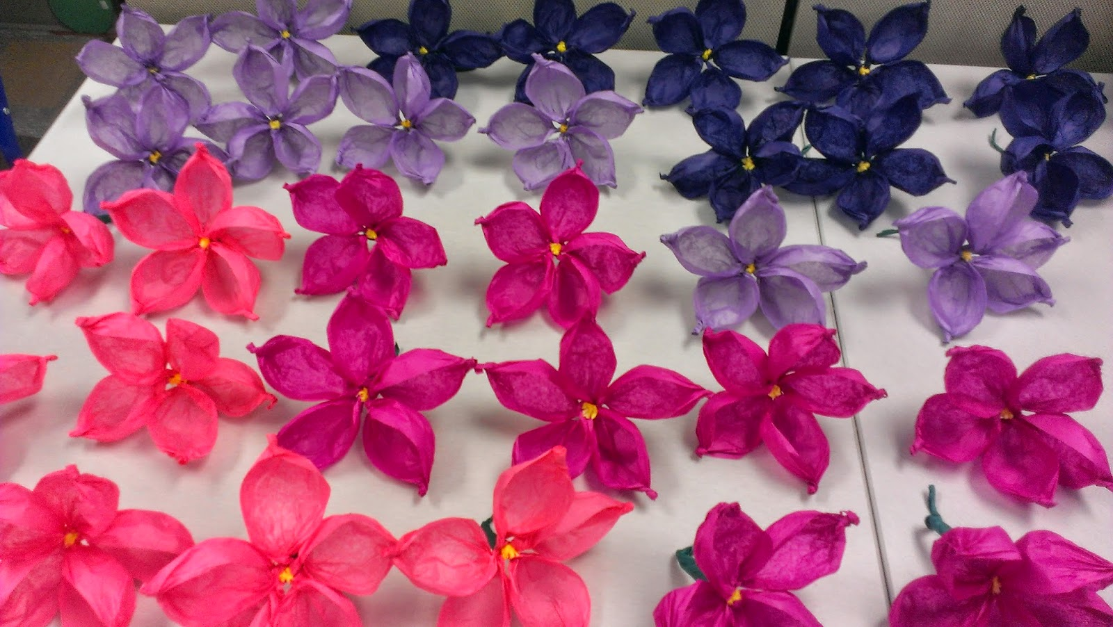 All Things Library By Ashley How To Tissue Paper Flower