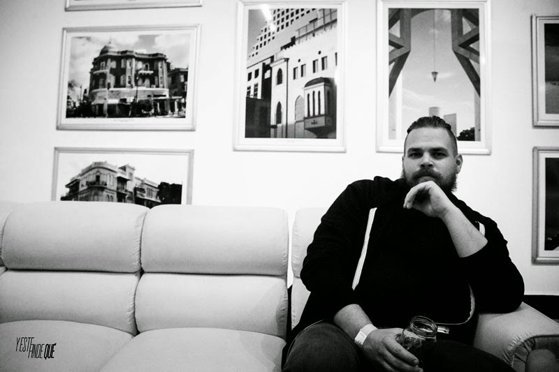 Com Truise - Interview @ Mexico City