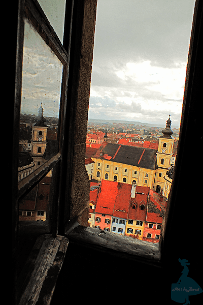 fereastra turn biserica evanghelica sibiu