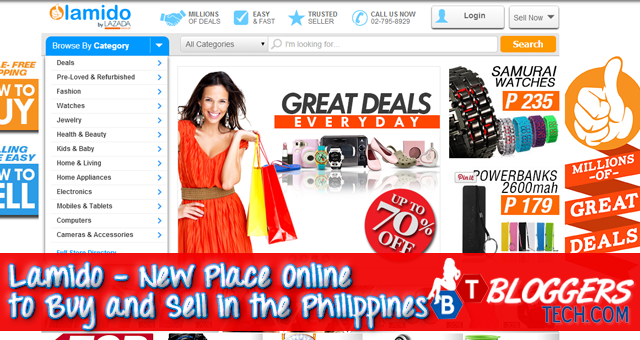 Lamido New Place Online to Buy and Sell in the Philippines