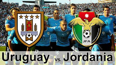 Jordania y Uruguay por el repechaje Mundial Brasil 2014