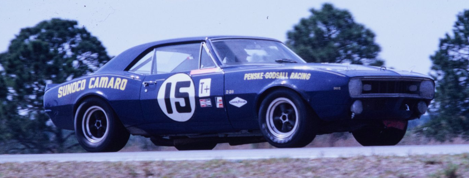 Pensky Camaro SCCA Trans-Am 12 Hours Of Sebring Trans Am 1968