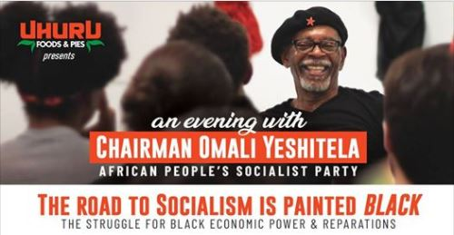 SAT 2/17 @ 6 pm: An Evening with Omali Yeshitela
