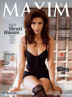 Shruti Hassan Maxim Cover Hot Photoshoot