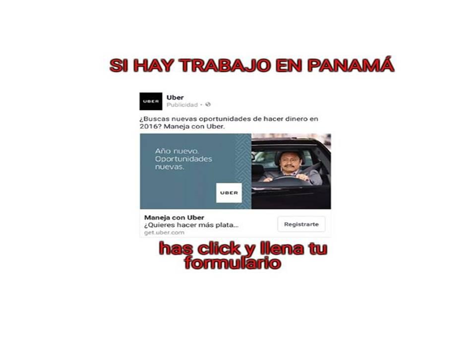 UBER PANAMA  HAS CLICK