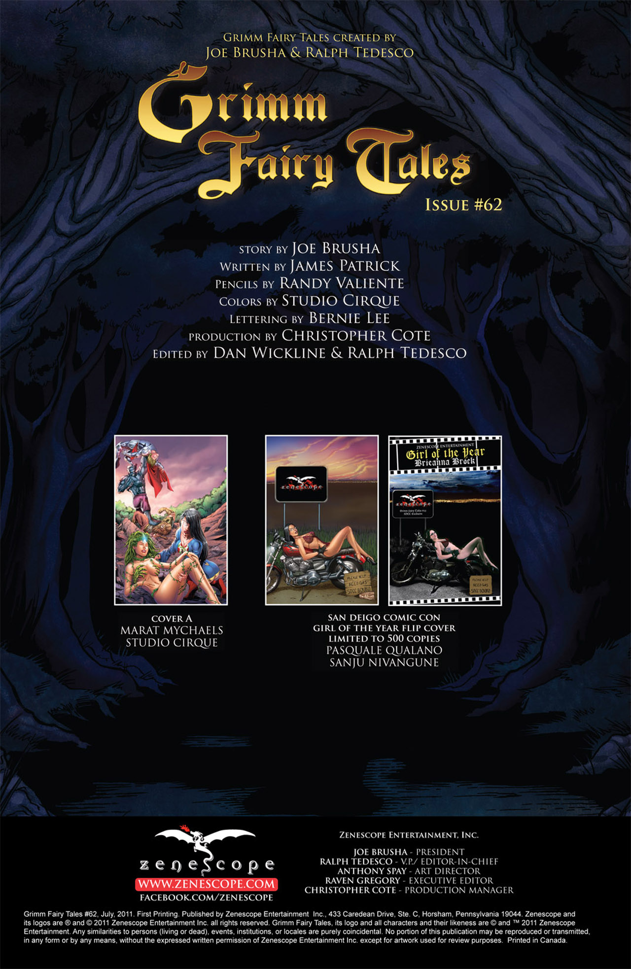 Grimm Fairy Tales (2005) Issue #62 #65 - English 2