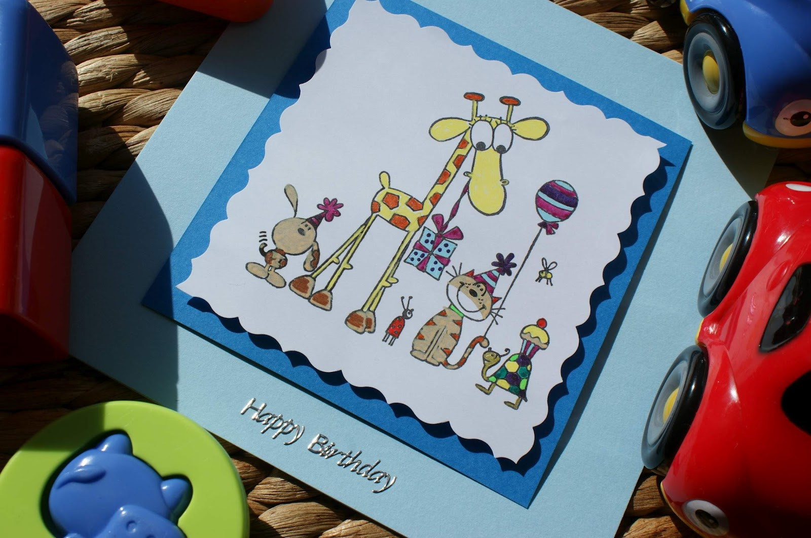 Craft Magic Childrens Handmade Birthday Card