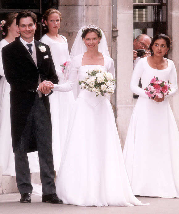 Church Bells Ringing On Our Wedding Day: Red Carpet Wedding: Lady Sarah Armstrong-Jones And Daniel