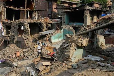 Gempa Bumi Bergegar Lagi Di Kathmandu