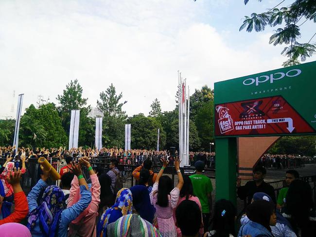OPPO Sponsori Ajang Pencarian Bakat X Factor Indonesia