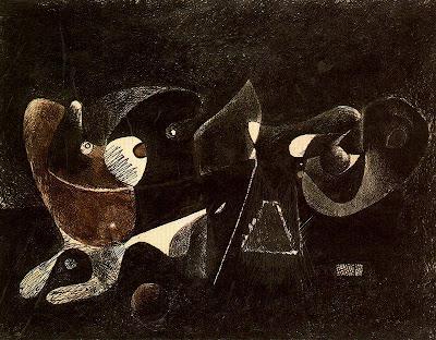 Nocturn, enigma i nostàlgia (Arshile Gorky)