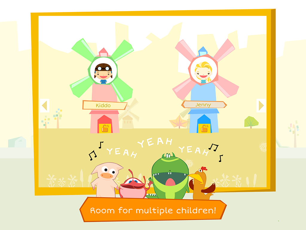 Joy Sprouts app multiple children