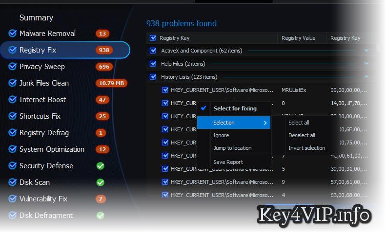 Advanced SystemCare Pro 8.2.0.795 Full Key,Phần mềm sửa lỗi và tăng tốc máy tính số 1