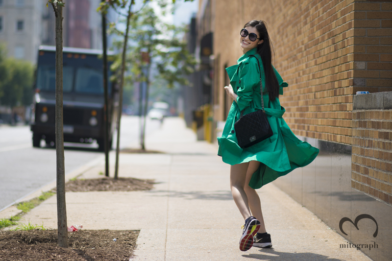 mitograph Sui He After Ralph Lauren New York Fashion Week 2014 Spring Summer NYFW Street Style Shimpei Mito