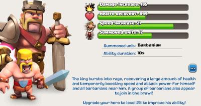 rey barbaro clash of clans