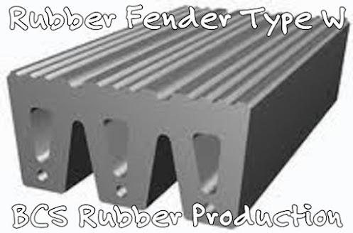 """""""RUBBER FENDER TYPE W""""'"""