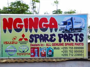 Karibu NGINGA spare parts
