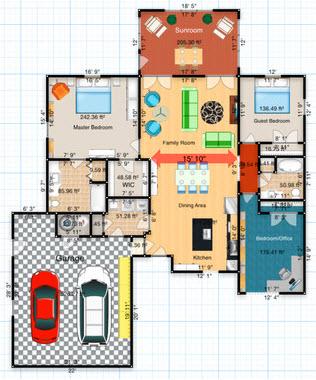 Viajupiter floorplans una app para crear planos for App para hacer planos