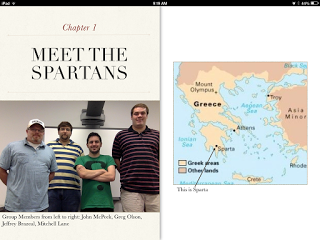Picture of the iBook for the Spartan EDM 310 group