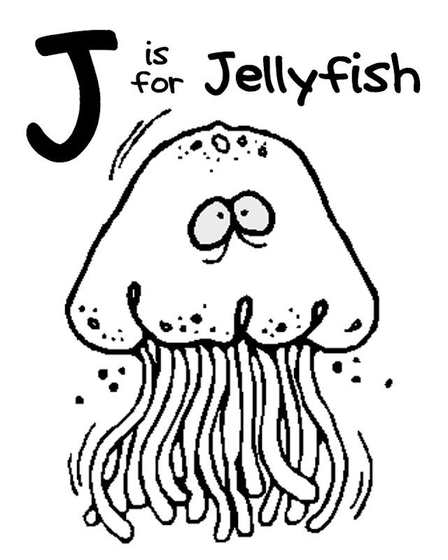 Letter J (Jellyfish) title=