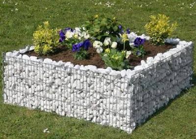 Muebles y decoraci n de interiores jardin piedras como for Jardines adornados con piedras