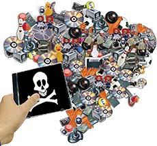Pirataria virtual aumenta no Brasil