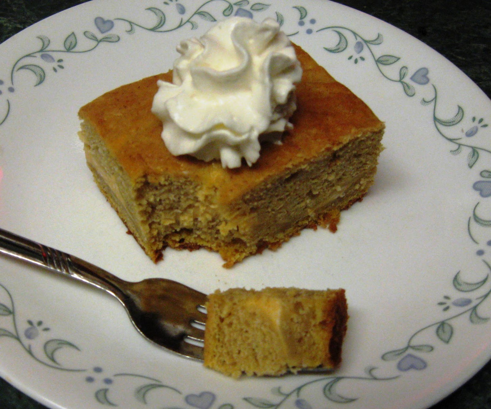 ... made pumpkin cheesecake before. But this is pumpkin cheesecake cake