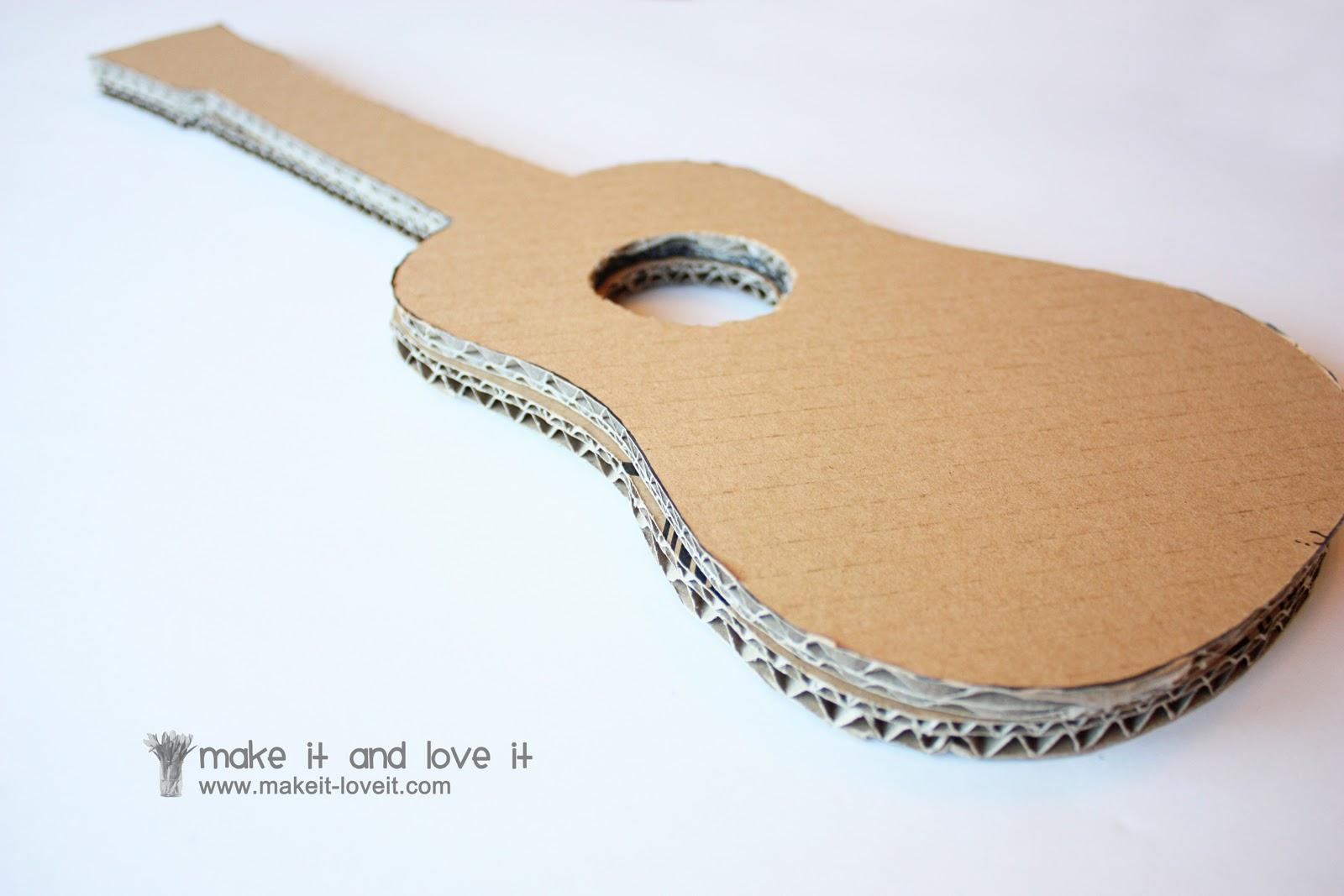 Гитара из своими руками пошаговое