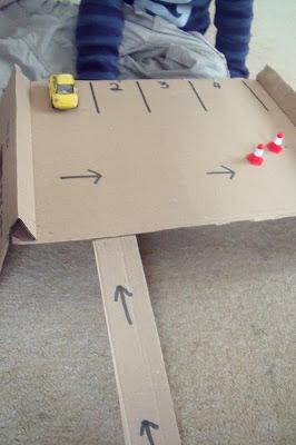 DIY CARPARK PLAYSET