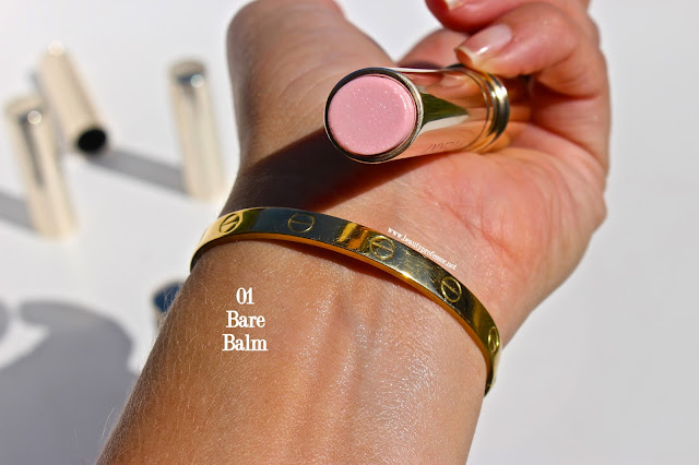 by terry bare balm swatches