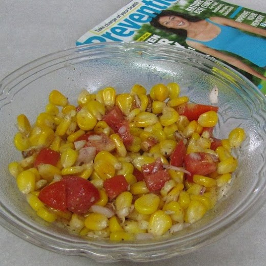 Crunchy Sweet Corn Walnut Salad