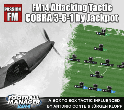 Football Manager 2014 Attacking Tactic Cobra