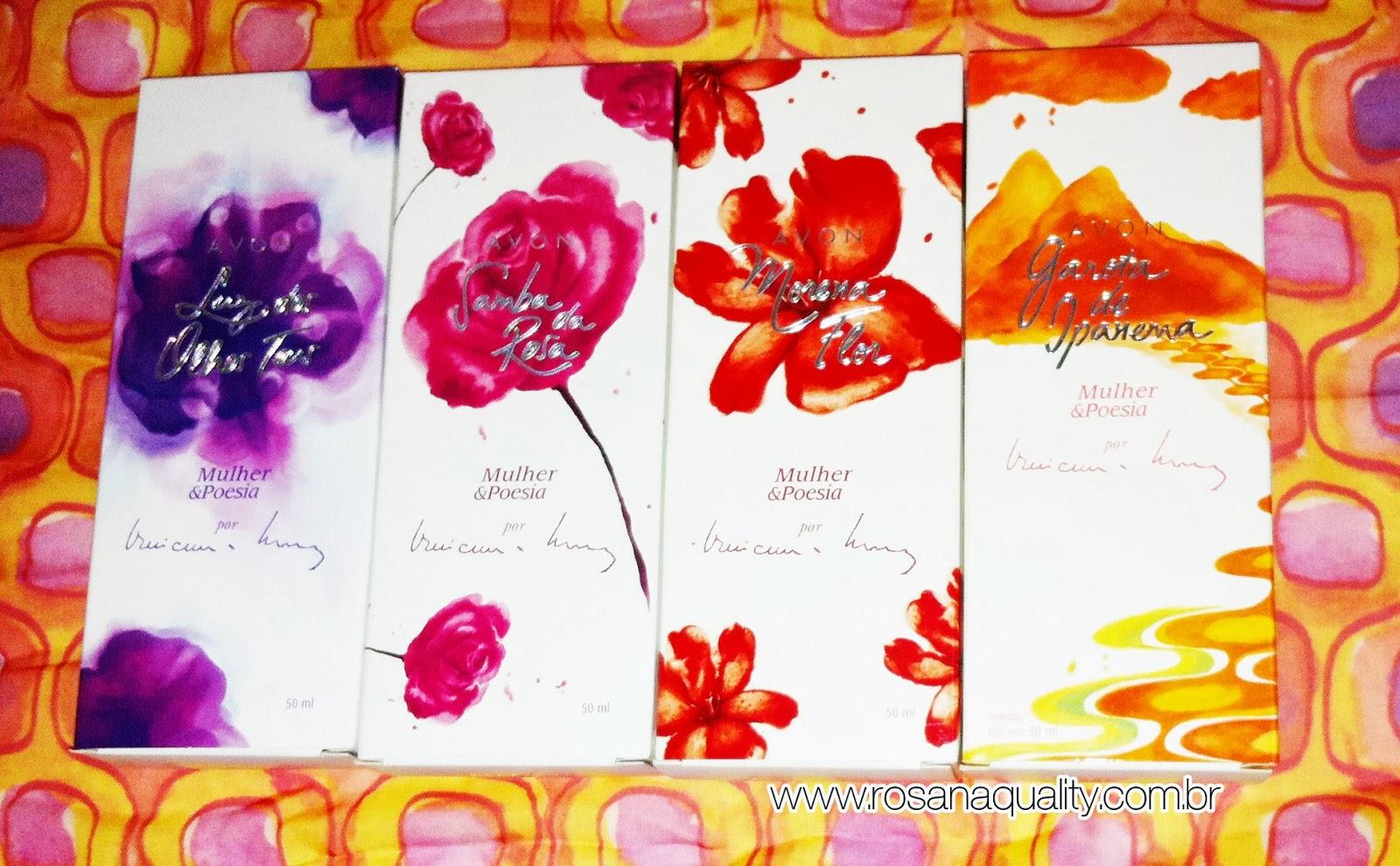 Coleção Mulher e Poesia Avon