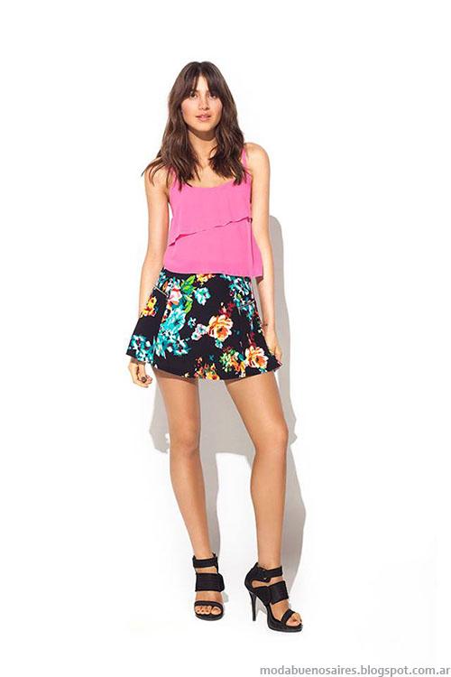 Faldas plato primavera verano 2015.