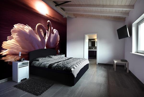 Papel pintado fotomurales animales for Papel pared habitacion matrimonio