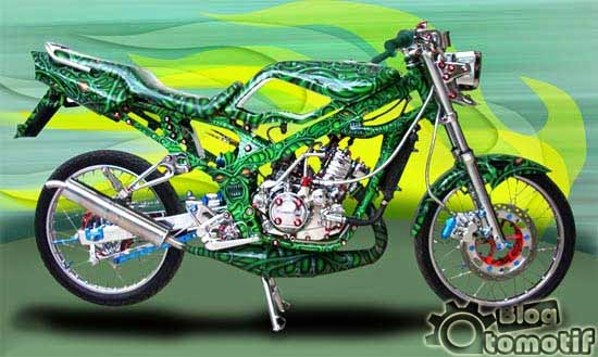 Modifikasi Motor Kawasaki Ninja Terbaru 2014