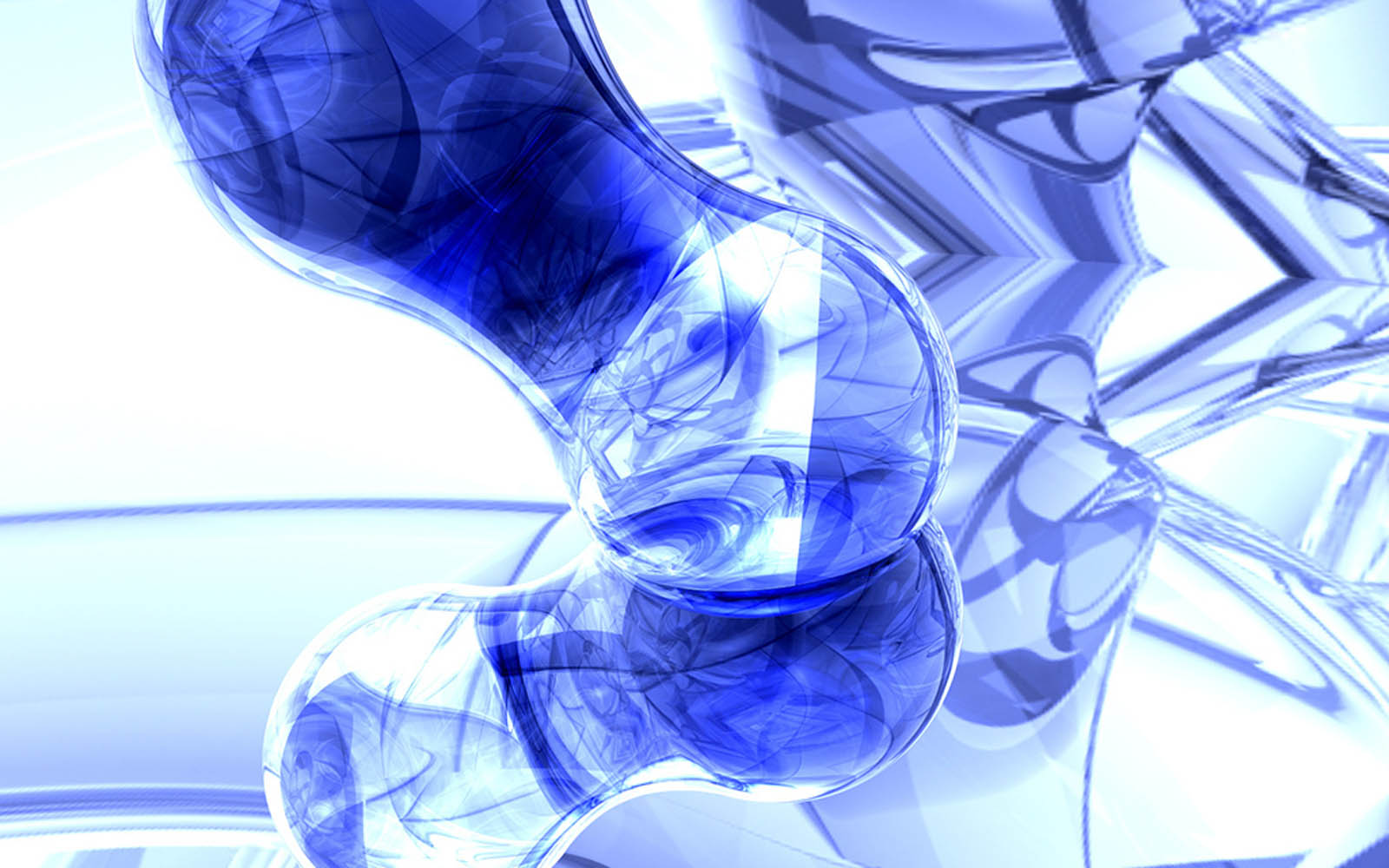 Awesome 3D Wallpaper Blue