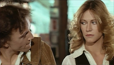 Rose gets chatted up again in Rabid, New World Pictures 1977