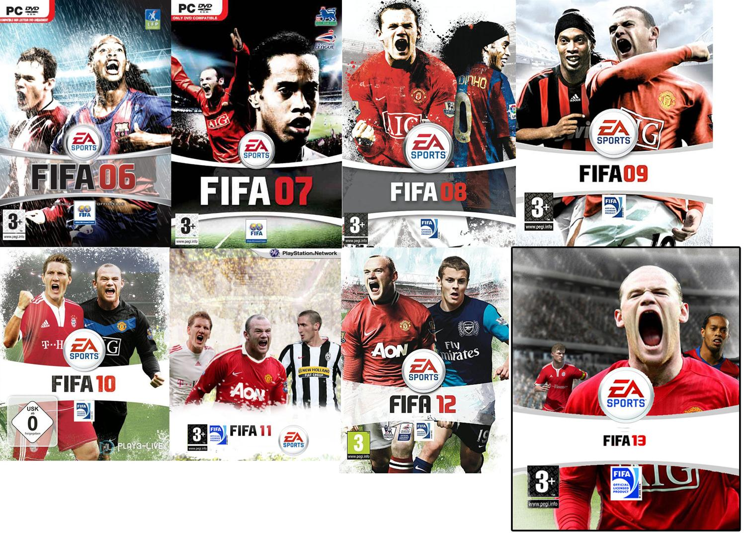FIFA 2013 Game Cover