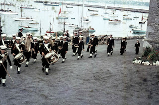Parade at British Seaman's Boys Home, Brixham