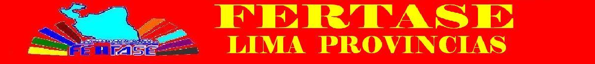 FERTASE LIMA PROVINCIAS