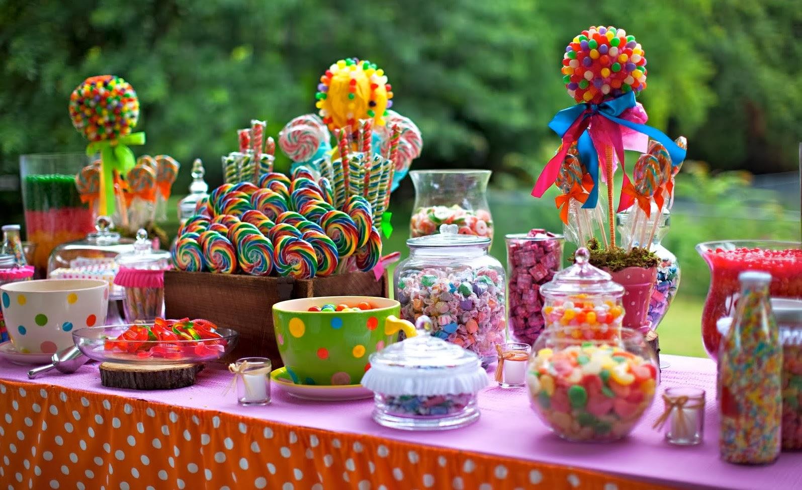 Recetasquick como preparar la mesa dulce para una fiesta - Como hacer una fiesta de cumpleanos ...