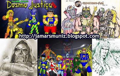 Desenhos de Jamar S. Muniz
