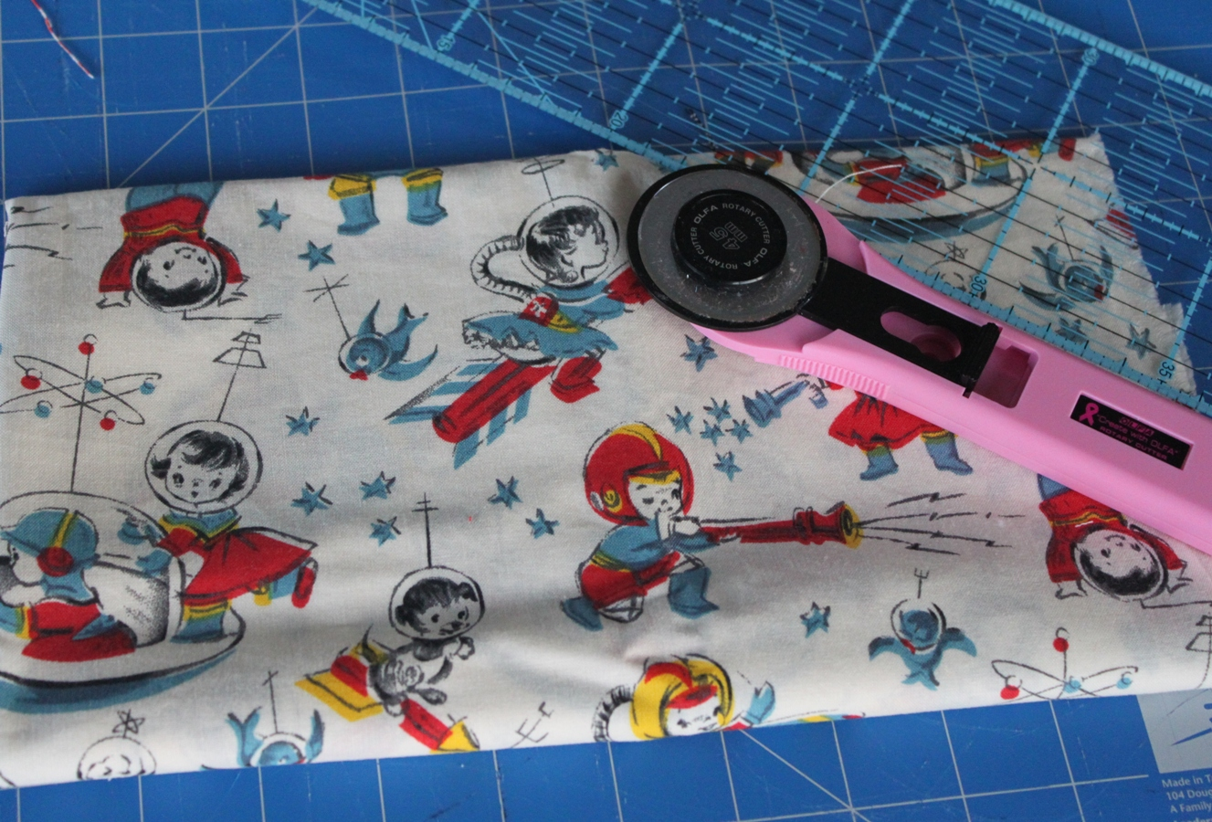 What i 39 m working on sew delicious for Space pants fabric