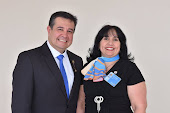 GOVERNADORA ASSISTENTE ÁREA 16 2018-2019 E O PRESIDENTE DE SERVIÇOS PROFISSIONAIS DO DISTRITO 4.402
